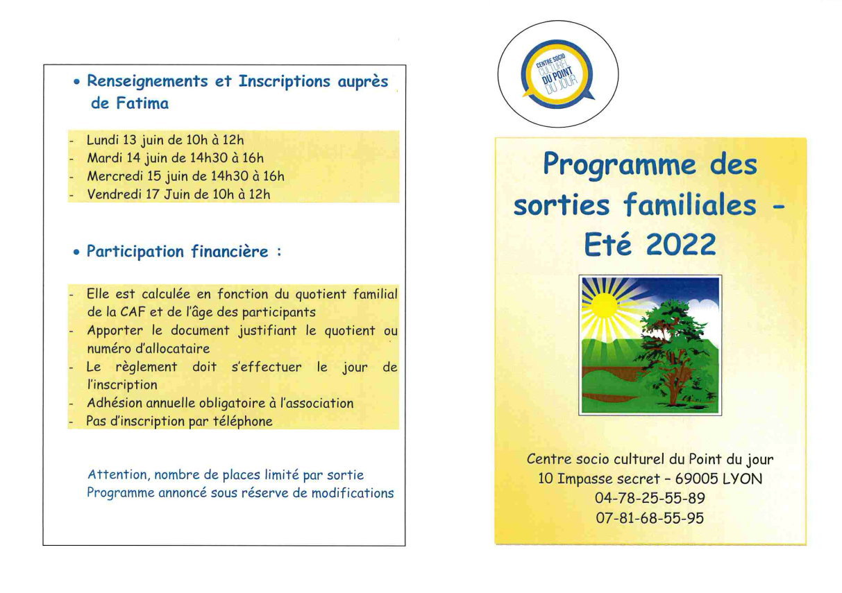 Image sorties familiales